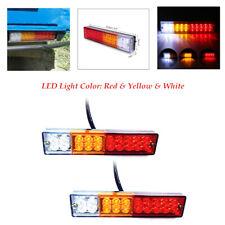 2pcs 12V ABS 20 LED Car Truck Trailer Tail Lights Turn Signal Brake Rear Lamp