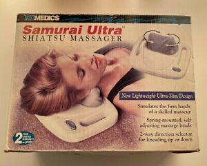Homedics Samurai Ultra Shiatsu Deep Kneading Neck-Shoulder Massager Model SM-666