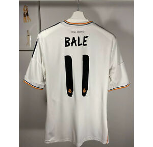 ADIDAS Real Madrid # 11 BALE 2013 2014 FOOTBALL SHIRT JERSEY HOME MENS SIZE S