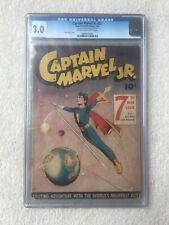 Captain Marvel Jr. #31, CGC 3.0 G/VG (Jul 1945, Fawcett)