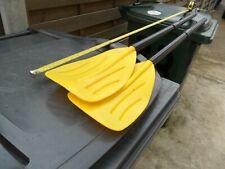 Pair 4FT BOAT OARS ROWING PADDLES DINGHY CANOE KAYAKING RAFTING
