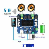Power Digital Stereo Receiver Amplifier Board Bluetooth Home Theater Speaker New