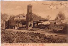 POST CARD   OAXACA   MEXICO  FUNDICION DE CANONES DEL GRALDIAZ DE NORIA 1909