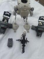 Star Wars AT-ST Walker 1982 Vintage Kenner Empire Strikes Back Lot Hoth