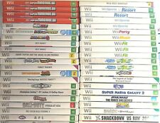 Wii Nintendo Games *Free Postage* Select from drop down box
