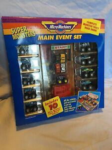 Micro Machines, Galoob, Super Monsters, Main Event Set, BNIB, Good Condition