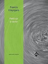 Petit air à varier, opus 256 - Gitarre - Buch   CD   Zustand sehr gut