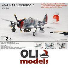 1/48 Republic P-47D THUNDERBOLT Razorback/Bubble canopy - Testors 520