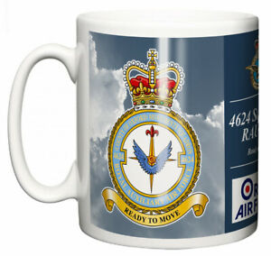 RAF 4624 Squadron RAUXAF Ceramic Mug, Brize Norton Base Station
