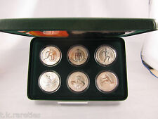 Australia 1994 - 1996 Complete set of 6 coins in the Olympic Heritage series.