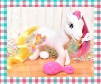 ❤️My Little Pony G3 Jade Garden Cutie Cascade Crystal Princess White Floral❤️
