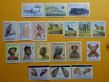 LOT 5359 TIMBRES / STAMP THEME POSTE AERIENNE + DIVERS ANGOLA ANNÉE 1951-1981