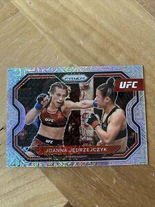 2021 Prizm UFC MOJO RefractorJoanna Jedrzejczyk 1st Prizm Card Iconic /25