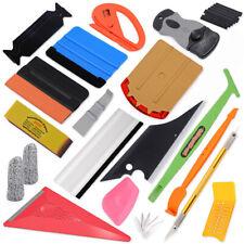 Car Film Squeegee Tools Vinyl Wrap 3D Carbon Fibre Knifes Blades Window Tint Kit