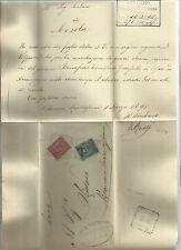94187 antico piego postale 1895 mesola