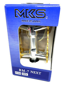 "MKS BM-7 NEXT 70TH Anniversary BMX Platform Bicycle Pedals 9/16"" : GOLD NEW"