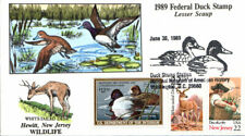 #RW56 Lesser Scaup Collins FDC - 74 Made Deer (0051989RW56008)
