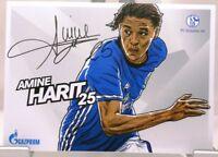 Amine Harit + Autogrammkarte 2017/2018 + FC Schalke 04 + AK201884 +