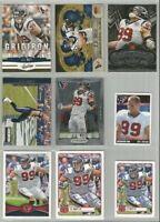 J J Watt Houston Texans 9 card 2012 lot-all different