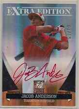 JACOB ANDERSON 2011 ELITE EXTRA EDITION STATUS RED AUTO #d 03/15 SP Rookie RC