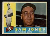1960 Topps #410 Sam Jones NM/NM+ Giants A3512