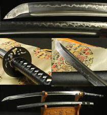 "41"" FOLDED STEEL CLAY TEMPERED JAPANESE SAMURAI SWORD KATANA VERY SHARP"