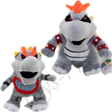 2X Super Mario Bros. Bowser Bones Koopa 11'' And 8'' Dry Baby Stuffed Animal Toy