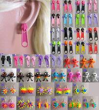 Orecchini di bigiotteria multicolore pendente