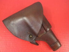 Wwii Sweden Swedish M/1907 Leather Holster for Fn Browning Model 1907 Pistol #1 00004000