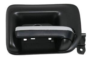 Interior Door Handle Front Right Black w/Chrome Insert for Silverado Sierra