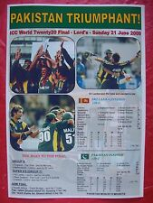 Pakistan 2009 ICC World Twenty20 winners - souvenir print