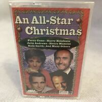 All Star Merry Christmas Music Cassette Tape Perry Cuomo Julie Andrews Mancini