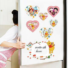 Winnie The Pooh Photo Frame Kids Wall Sticker Vinyl Magnet Decal Nursery Decor