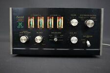 4-channel Rear Amplifier SANSUI QS-100 Stereo Quadro Vintage Black Wooden Case
