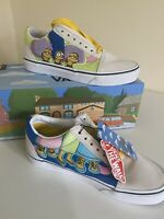 Vans x The Simpsons Bouviers Old Skool Trainers UK5 BRAND NEW IN BOX UK 5.5