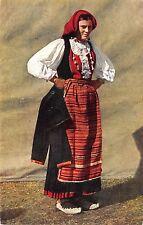B74568 hrvatske narodne nosnje pljica folklore costume croatia