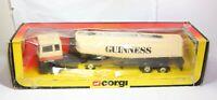 Corgi 1169 Ford Guinness Tanker Truck In Its Original Box - Excellent Vintage