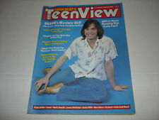 TIGER BEAT TEEN VIEW magazine September 1978 Shaun Cassidy LEIF Willie BCR Baio