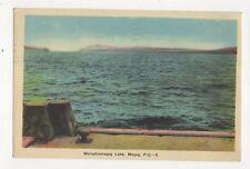 Memphramagog Lake Magog Quebec Canada 1945 Postcard 316a
