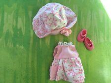 Kelly Doll  HTF pink dress & hat set