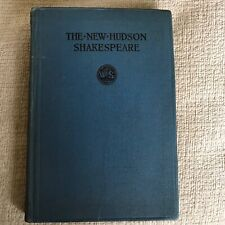 1916 New Hudson Shakespeare: The Tragedy Of Romeo & Juliet - Henry Norman Hudson