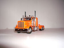 DCP FIRST GEAR 1/64 ORANGE 389 PETERBILT WITH 36'' FLAT TOP SLEEPER