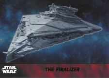 Star Wars Force Awakens S1 Green Parallel Base Card #55 The Finalizer