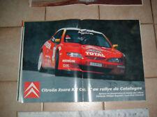 Citroën Xsara Kit Car Bugalski Chiaroni Rallye Catalalogne ; poster d p - 1999