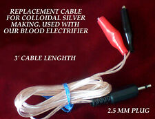 Replacement Colloidal Silver  Cable for our Blood Electrifier device