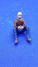 O Gauge1.43 finescale resin Handpainted Figure workman construction worker