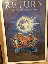 1985 RETURN OF THE JEDI R85 Star Wars Authentic One Sheet Movie Poster Rolled