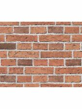 RED BRICK WALLPAPER ROLLS 10m NEW A.S. CREATIONS (7798-16)