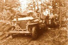 WW2 - Jeep en opérations en Normandie