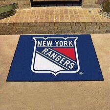 "New York Rangers 34"" x 43"" All Star Area Rug Floor Mat"